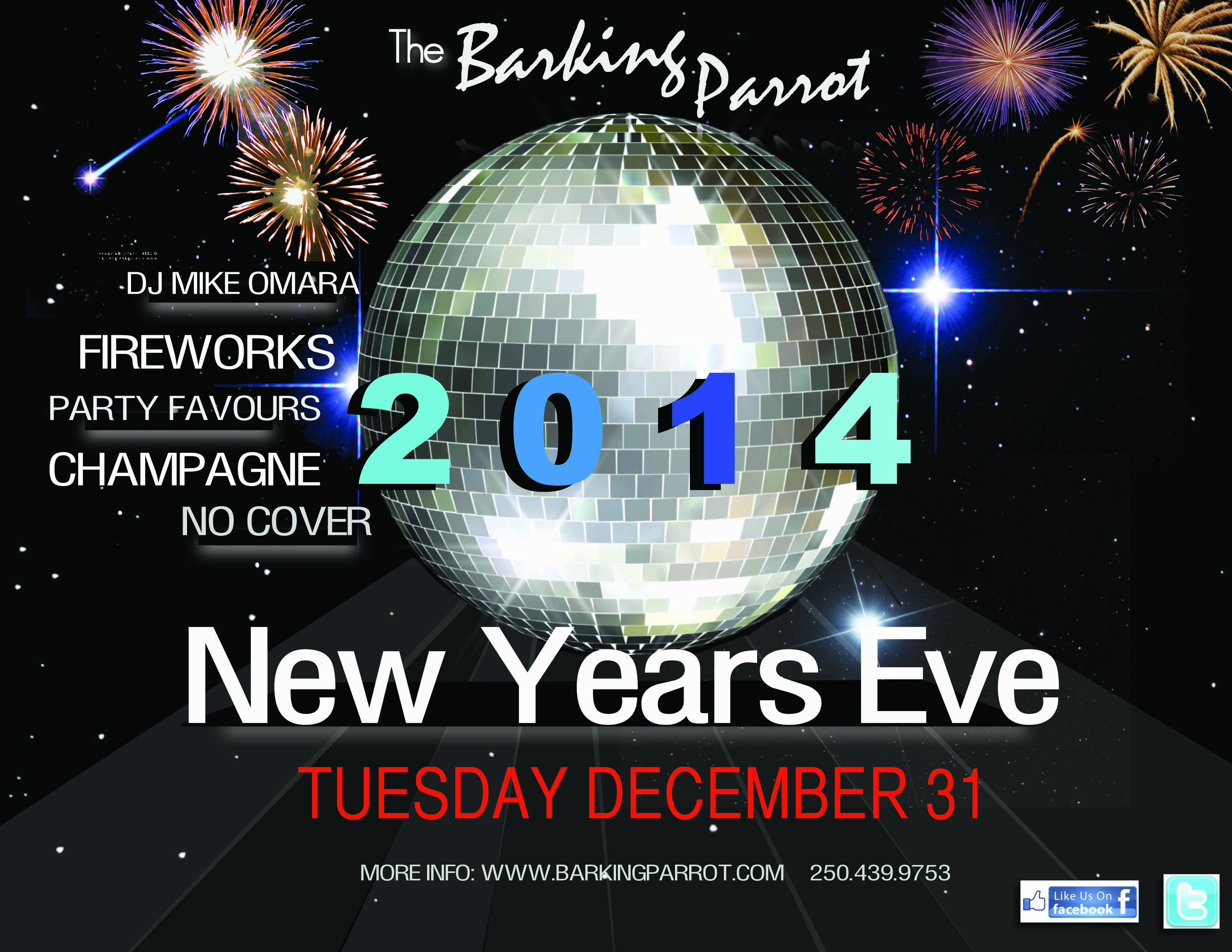 New Years Eve in the Barking Parrot!