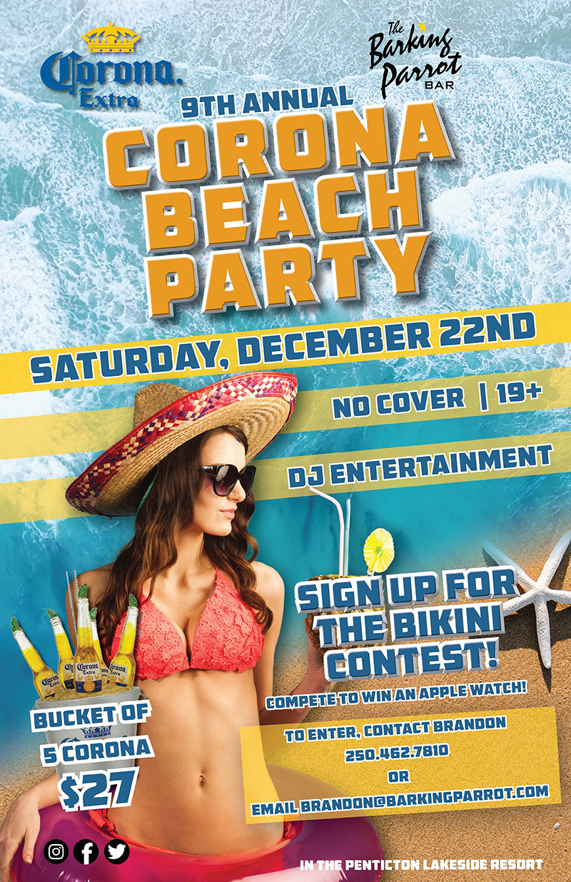 9th Annual Corona Beach Party