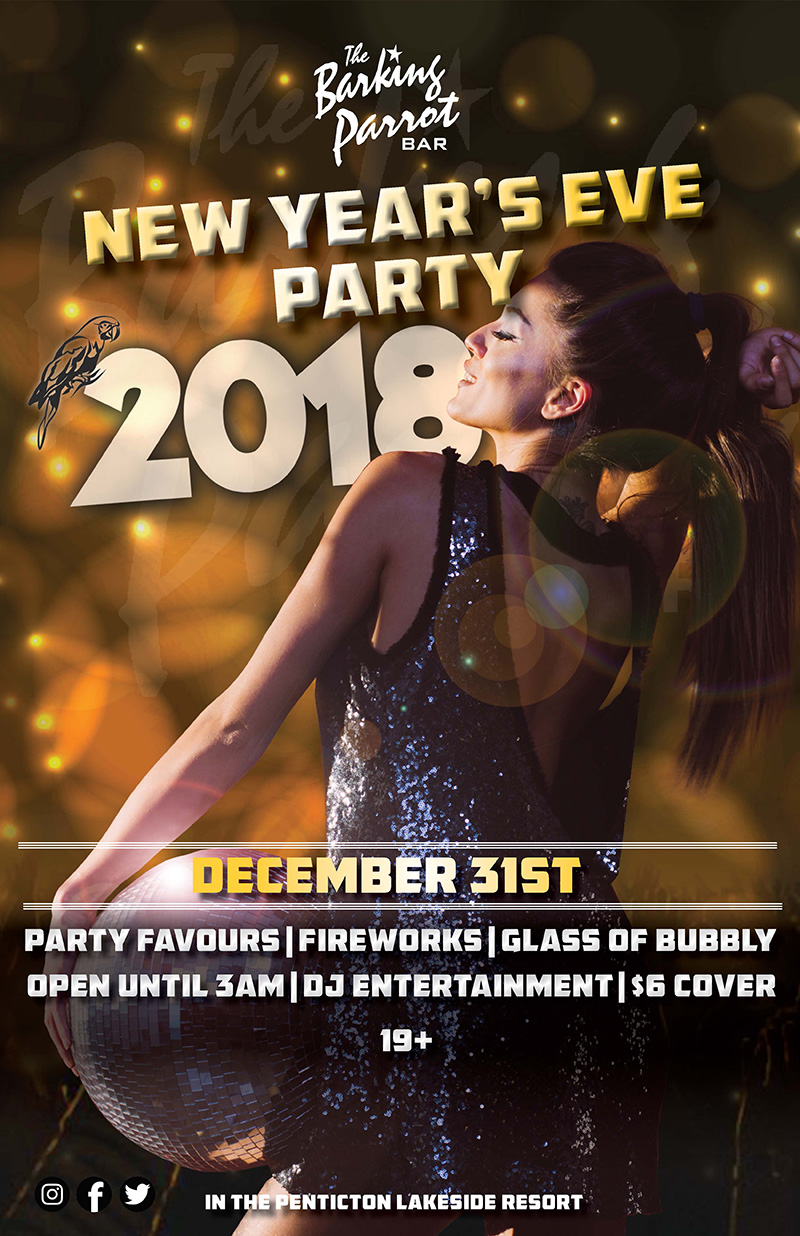 New Year's Eve at the Barking Parrot